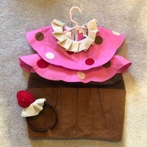 Pottery Barn Kids Strawberry Shortcake Costume